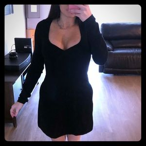 Urban Outfitters black this cotton dress